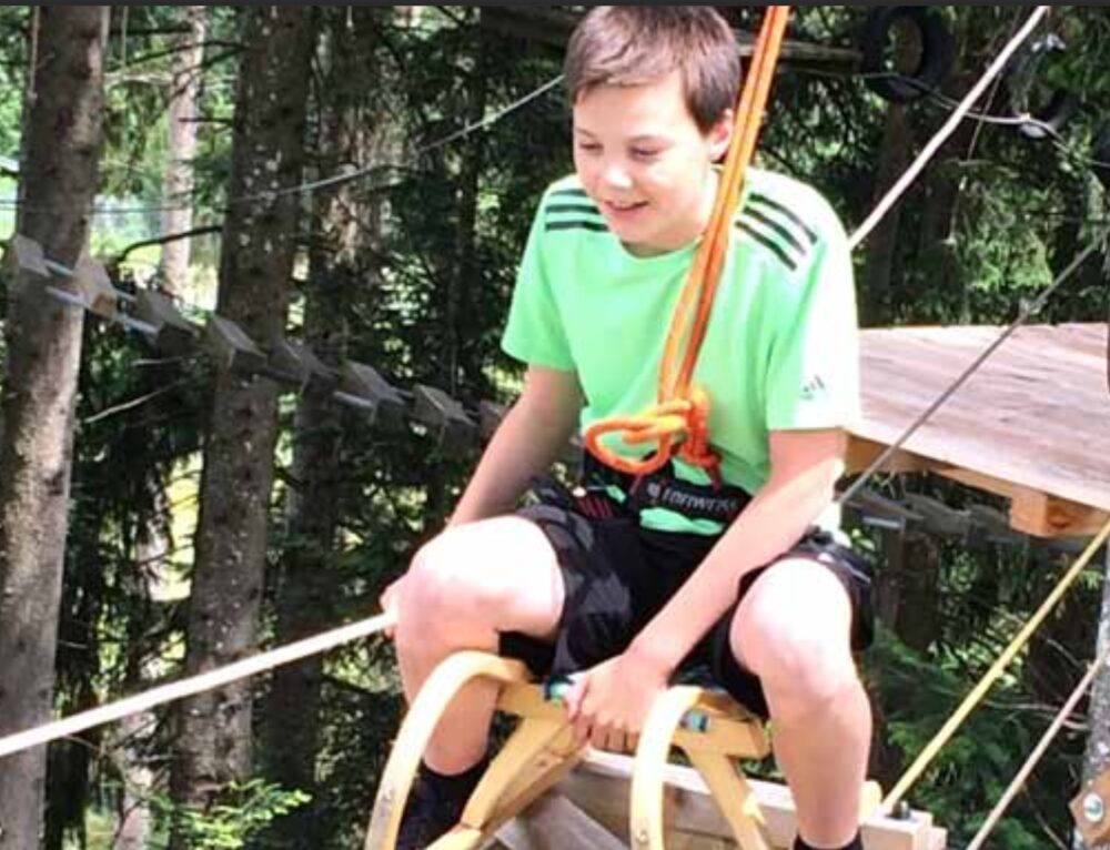 Neuer Func Kletterpark am Pillersee